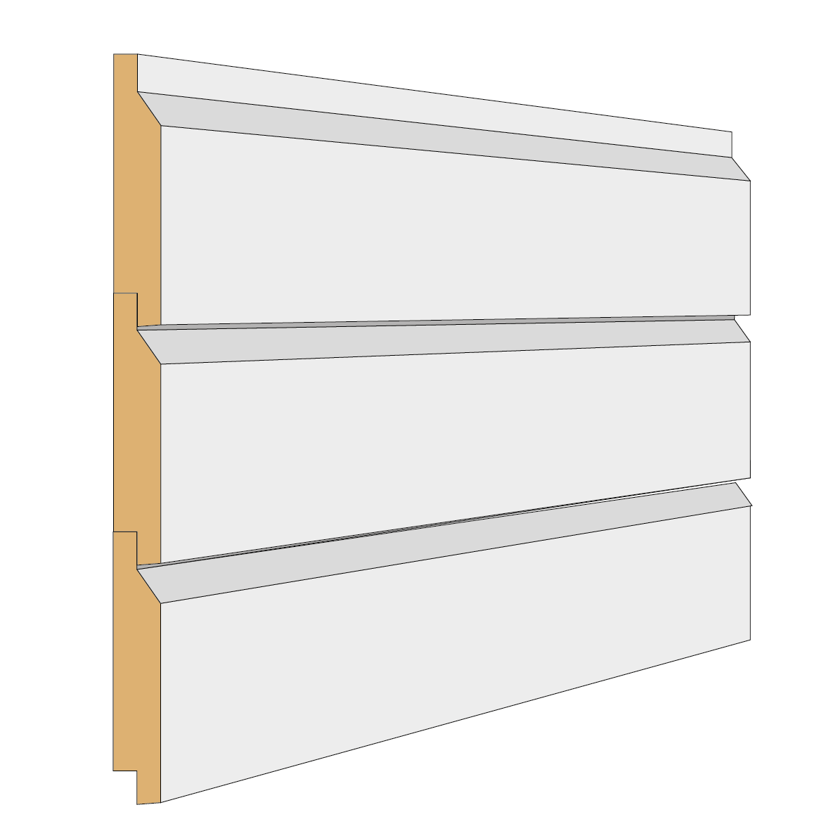 Falsad enkelfas exempel Bygg & Trä
