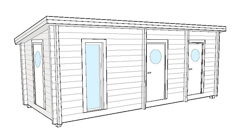 Fritidshus Nordträ Bastuviken