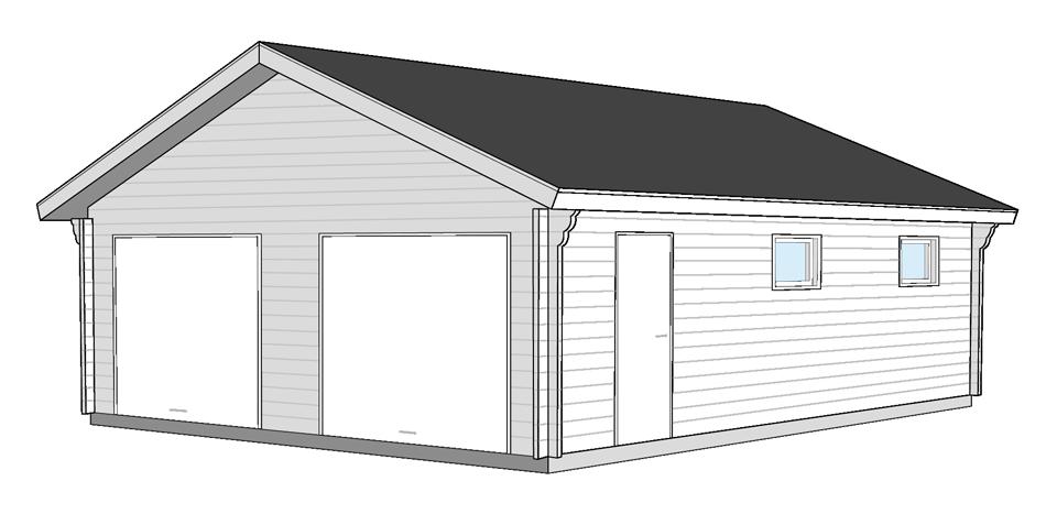 garage 9x7kvm Bygg & Trä
