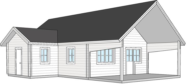 Fritidshus  Bygg och Trä  Falmark